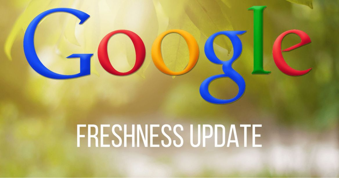 google-freshness-update
